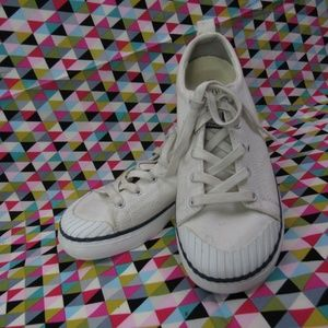 Keen White Canvas Sneakers 8M